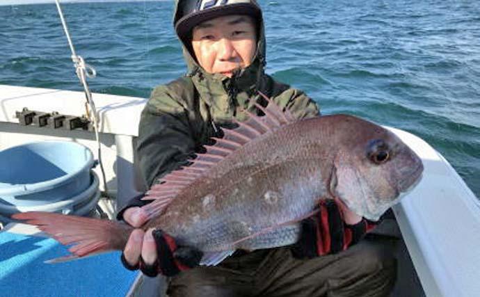 【愛知県】船釣り最新釣果情報 食べごろサイズ乗っ込みマダイ好調!