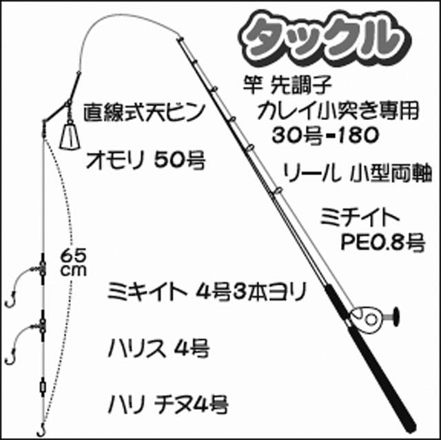 シーズン初期のマコガレイ船で42cm頭に4尾【茨城県・山正丸】