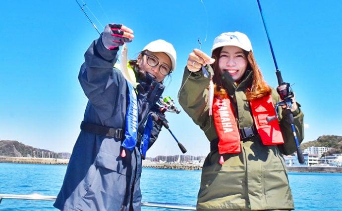 レンタルプレジャーボートで釣り女子会【神奈川県・葉山マリーナ】