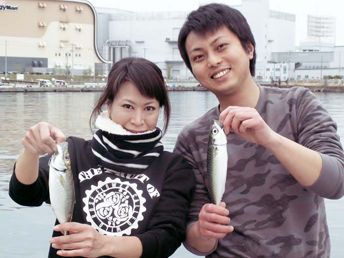 ヘラブナ師が数十年ぶりに波止での海釣り満喫【大阪府・貝塚人工島】