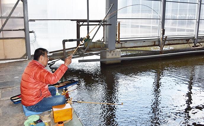 全天候型&電車釣行可能なヘラブナ管理釣り場【大阪府・へら釣り西池】