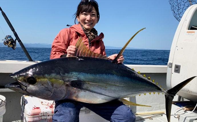 キャスティングで36.5kgキハダマグロ 3年越しの悲願達成!