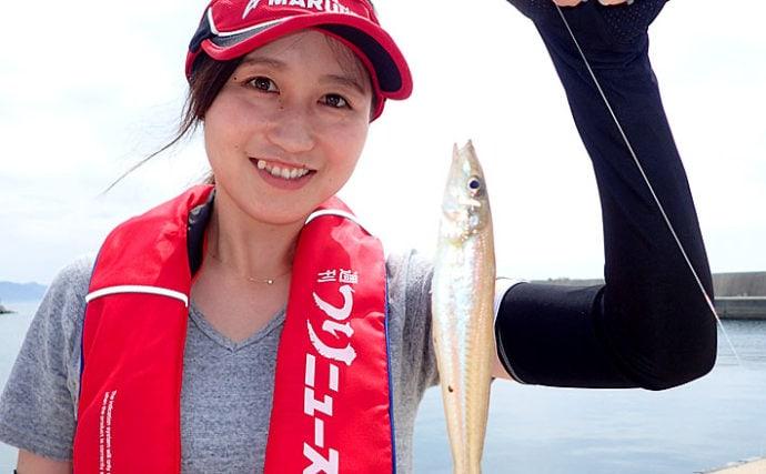 春〜初夏のチョイ投げで狙うシロギス釣り ライトタックルで手軽に満喫