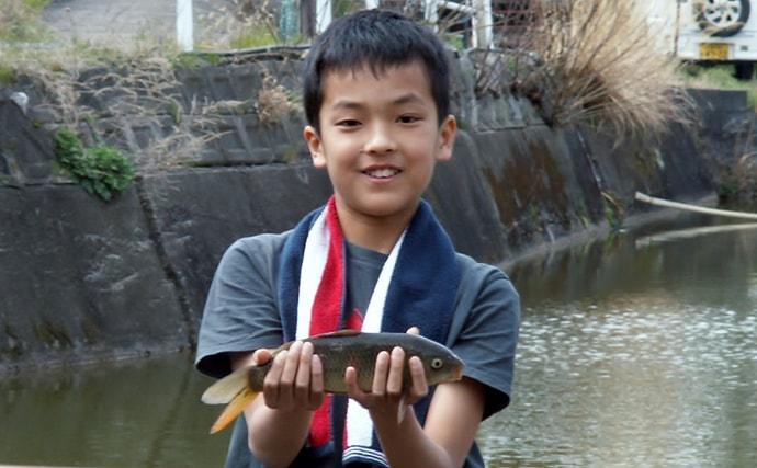 大型ヘラブナ狙いに釣行 ハタキ場所を求めて【奈良・竜田川釣り池】