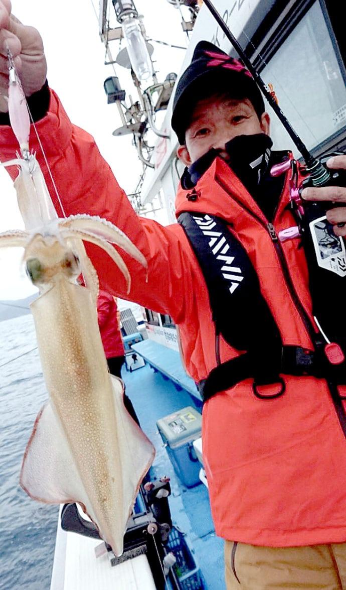 シーズン終盤ヤリイカ釣行で本命7杯 ゼロテン拾い釣り【福井・敦賀】
