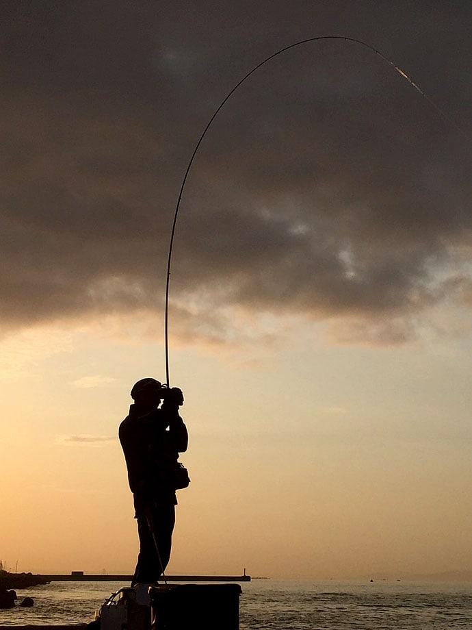 フカセ釣りでチヌ&マダイ 海水浴場沖はフカセ天国?【須磨一文字】