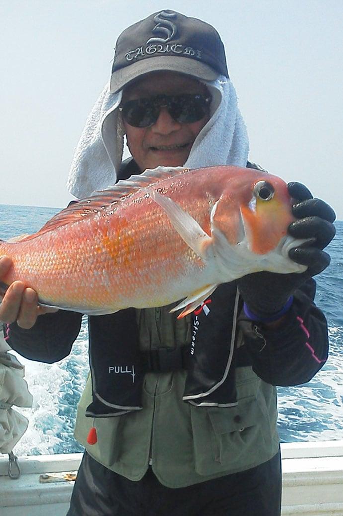 【玄界灘】沖のエサ釣り最新釣果 6kgタカバ(マハタ)に大アマダイ