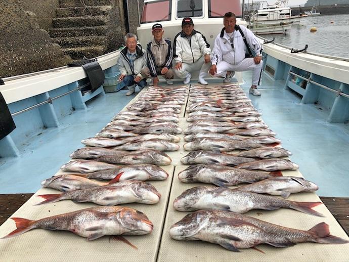 【長崎県・佐賀県】船釣り最新釣果 マダイ船中83尾に9kgヒラマサ