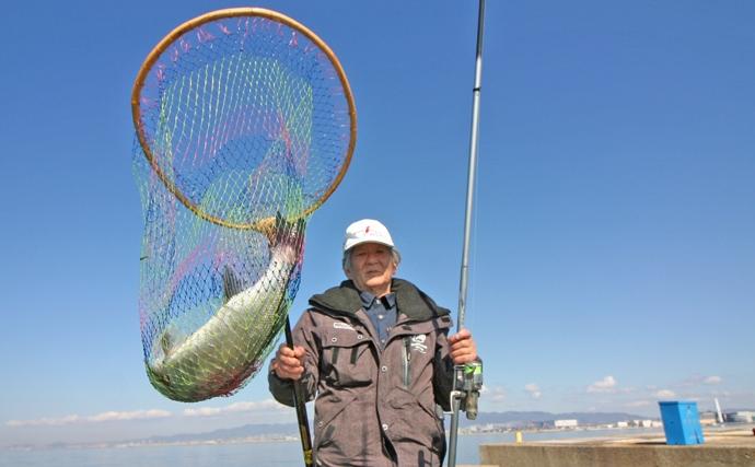 エビまき釣り名手のこだわりタックルをのぞき見してみた【大阪北港】