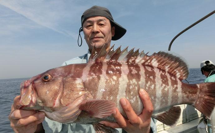 【玄海灘】沖エサ釣り最新釣果 イサキ70尾に3kgタカバなど!