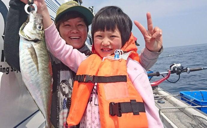 【熊本・大分】船釣り最新釣果情報 70cmマダイ連発に大アジも!