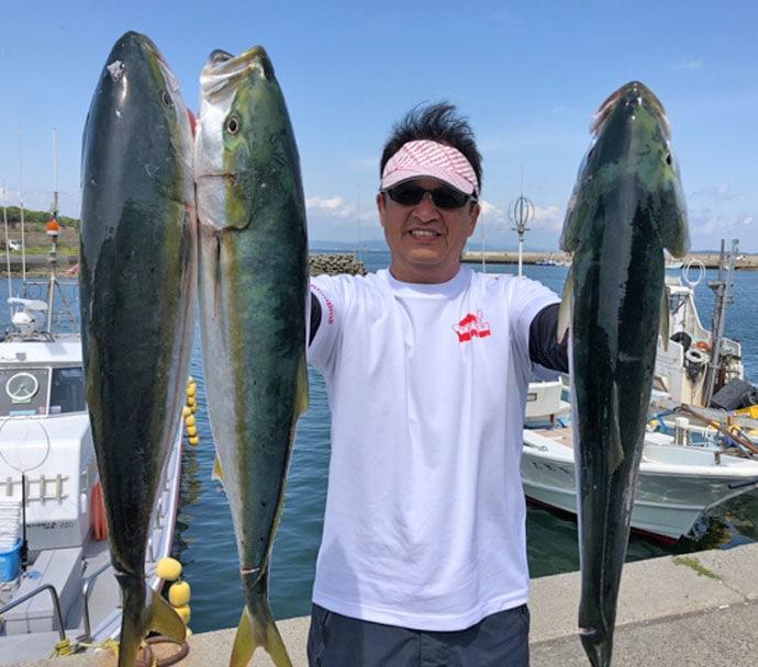 【愛知県】船釣り最新釣果 特大サイズのアイナメにサワラなど魚種豊富