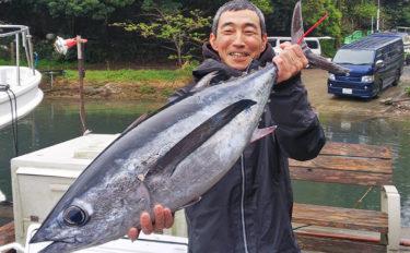 ジギングでビンチョウマグロがフィーバー 船中19尾!【三重・志摩】