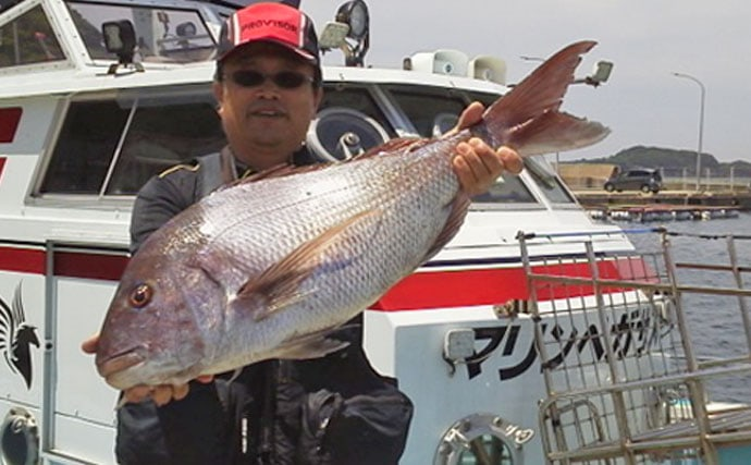 【長崎県&佐賀県】最新釣果 船で青物40~60尾にカゴ釣りで77cmマダイ