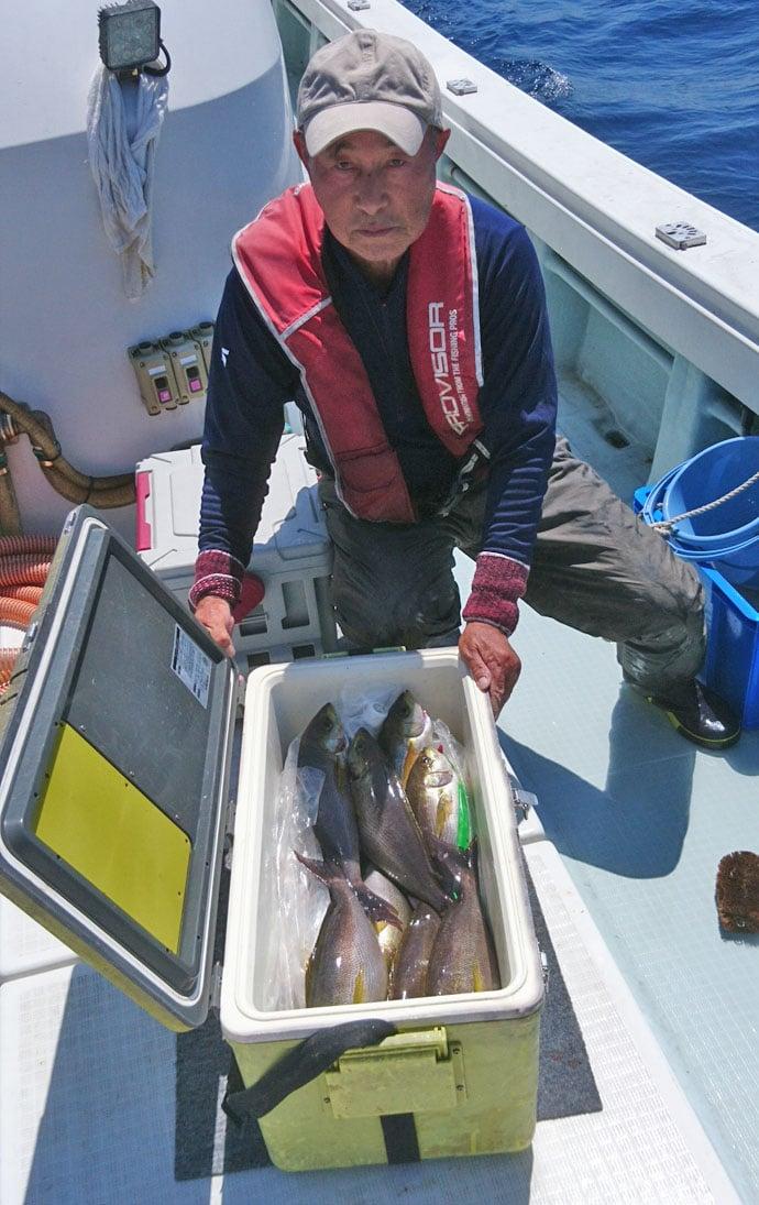 【響灘】船釣り最新釣果 1m超ビッグヒラマサに96cmブリ!