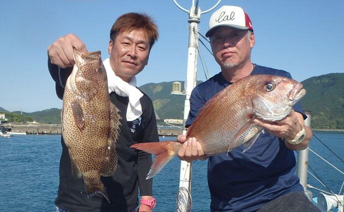 【三重県】船釣り最新釣果 2.6kgアオリイカにマダイ連日好調!