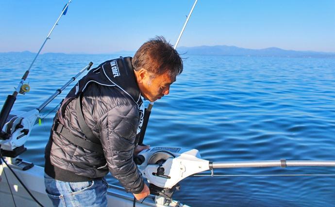 琵琶湖の固有種『ビワマス』狙いレイクトローリング解説 意外と手軽!