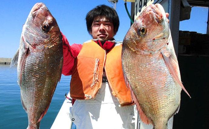 聖地『新潟』乗っ込みマダイ釣り初級解説 船中100尾超は当たり前?