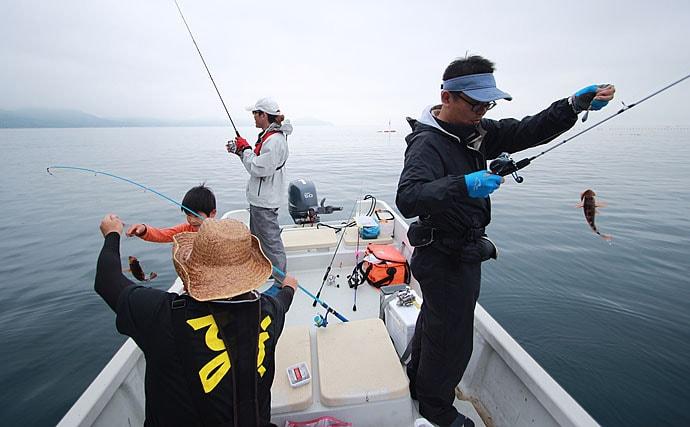 ボートシロギス釣果アップの5つの秘訣 自由気ままでお手軽が魅力