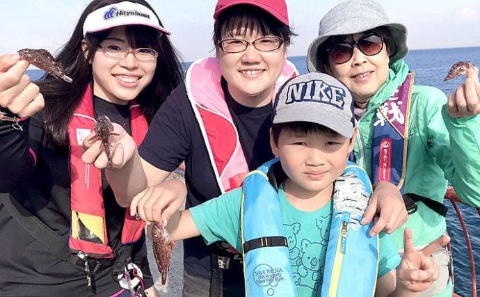 女性スタッフによる女性のための海釣り教室を開催【平磯海づり公園】