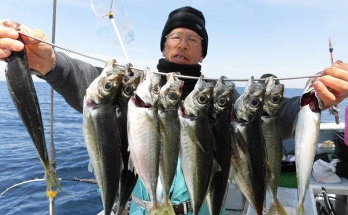 【愛知&福井】船釣り最新釣果情報 28cmキスに87cmスズキも