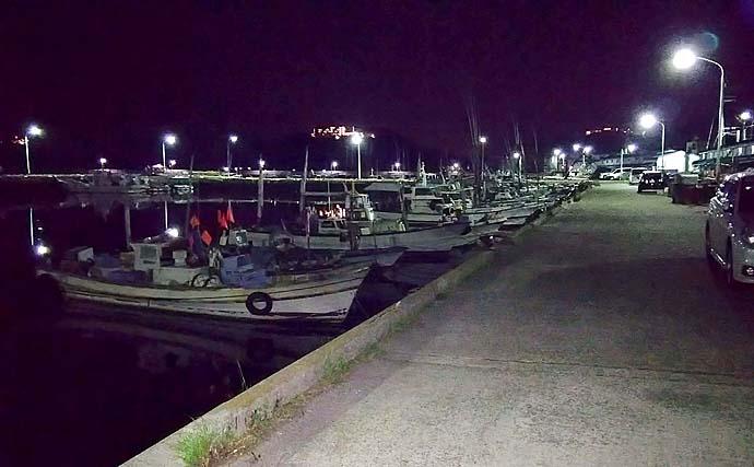 ライトゲームでアジ&メバル レンジ探りガシラも【淡路島・福良漁港】