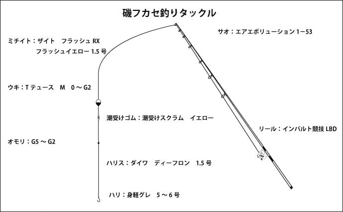 磯フカセ釣り38cm頭にグレ30尾超え 良型尾長狙い【三重・南伊勢】