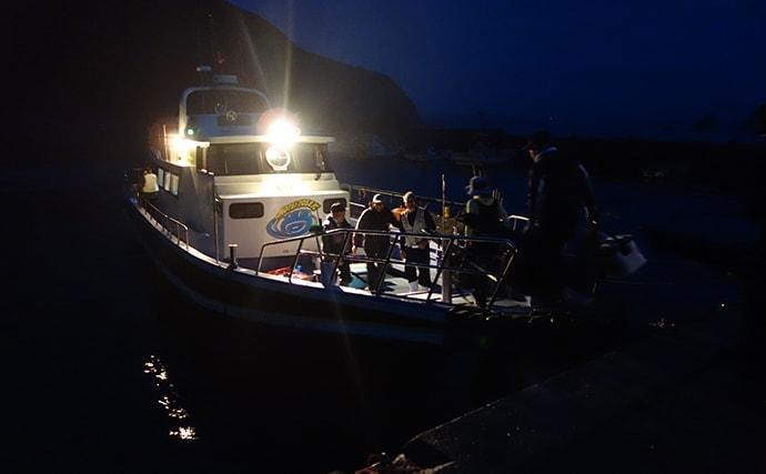 磯釣りでの乗っ込み良型イシダイ好釣 2日連続で挑戦【愛媛・武者泊】