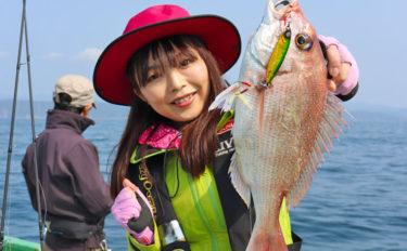 ジギング&タイラバでマダイを釣る方法 派手な動きは嫌われる?