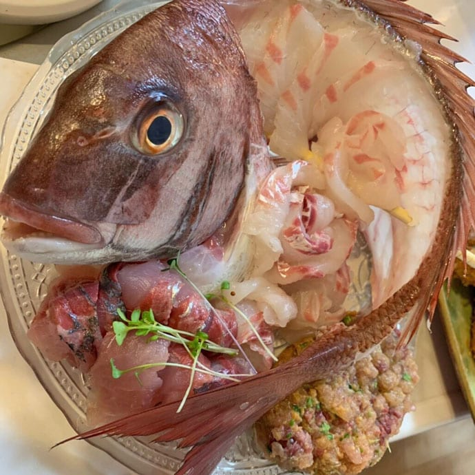 テンヤマダイ釣行で本命3尾 エサは活きエビを使用【千葉県・加平丸】