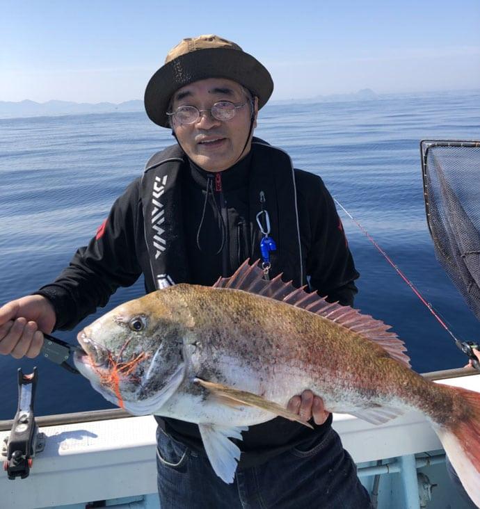 【響灘】タイラバ&ジギング最新釣果 9.2kg大ダイに9kgブリ