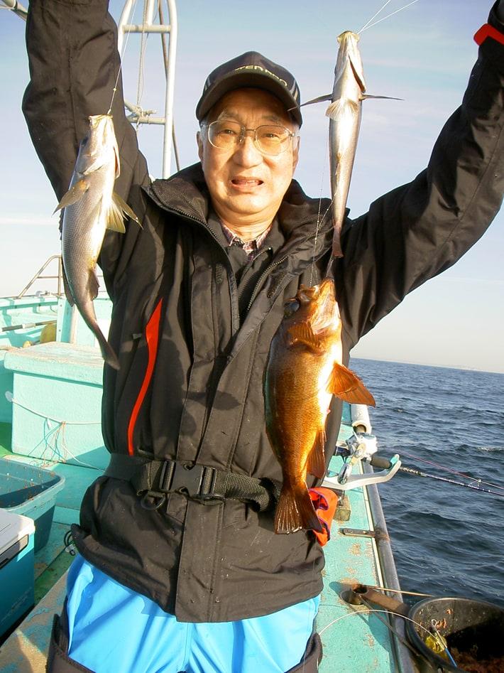 大原サイズの良型イサキ釣り 38cm頭に32尾!【千葉県・外房】