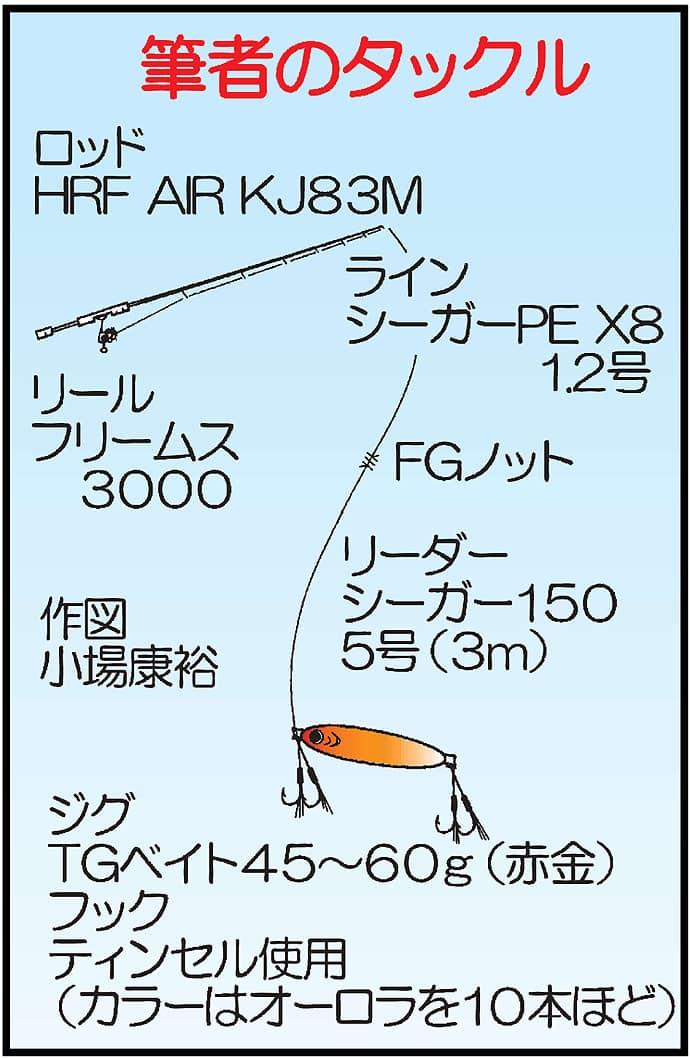 ロックフィッシュ狙いボートジギングでアカハタ14尾!【鹿児島県】