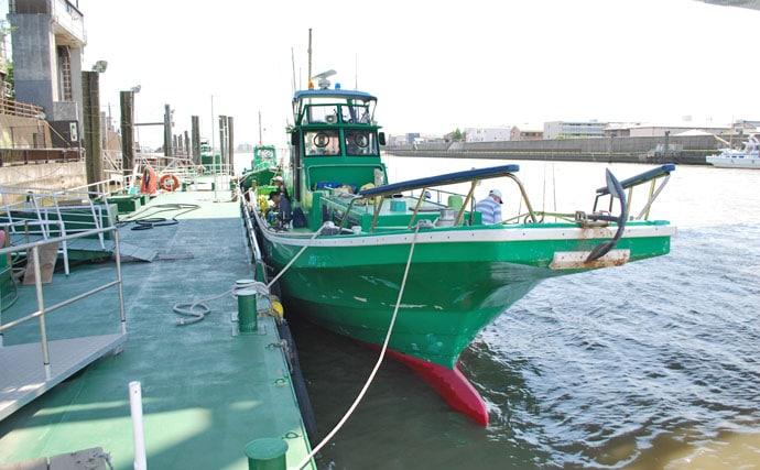 キス・アナゴのリレー船で旬の江戸前食材を狙う【千葉県・吉野屋】