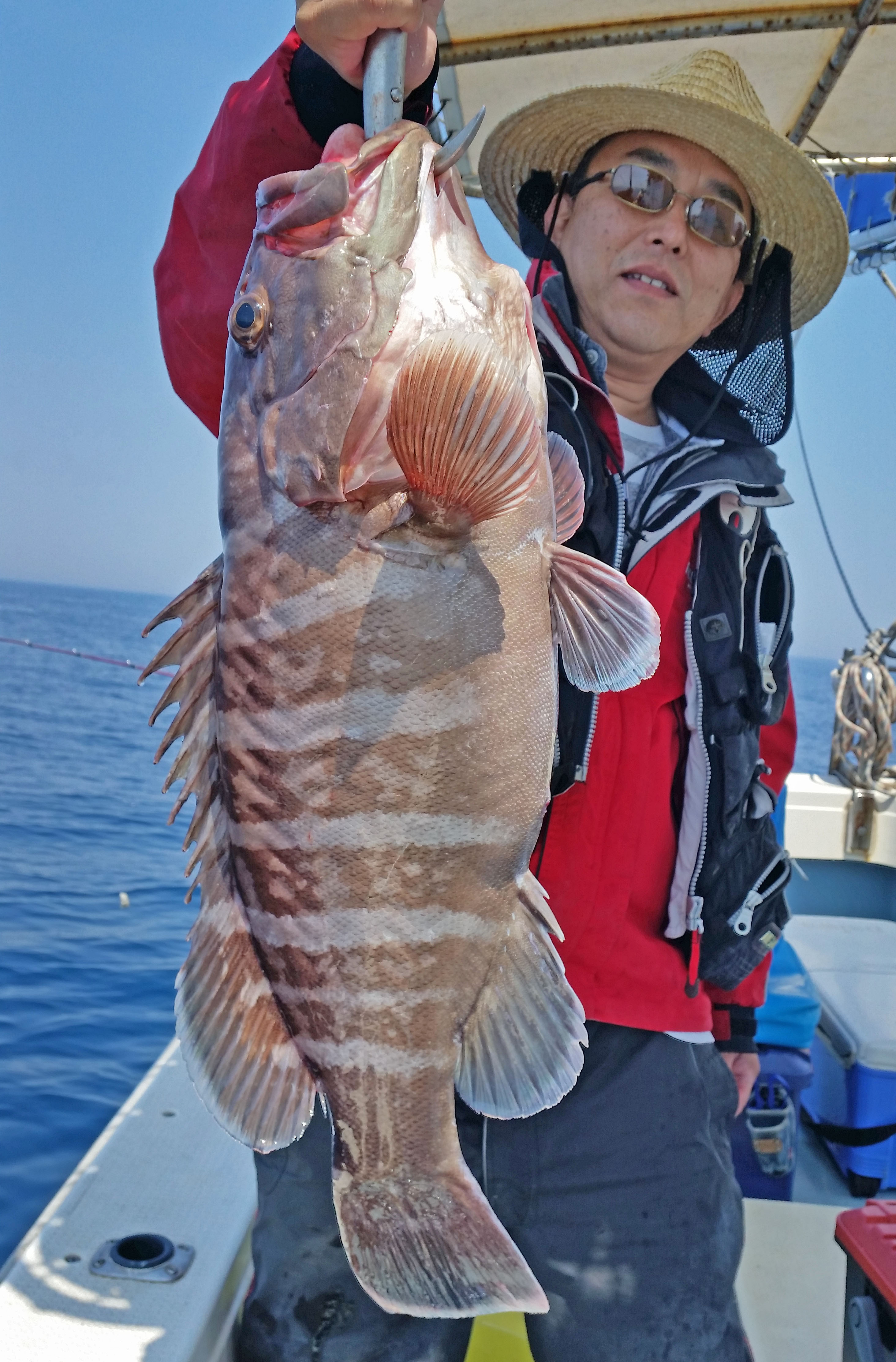 【響灘】船釣り最新釣果 85cm9kg大ダイに5.3kgタカバなど