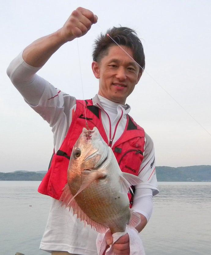 磯からの投げ釣りで50cm超えマダイにキビレ!【長崎県・飛島】