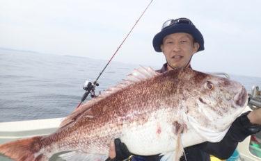 【響灘】マダイ沖釣り釣果速報 92cm10kg超えのビッグサイズも