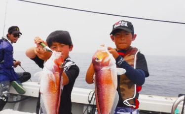 【長崎・佐賀・熊本】船釣り釣果速報 良型アマダイにキス3桁釣果!