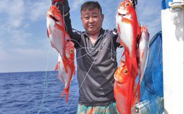 【熊本県・大分県】沖釣り釣果速報 キンメにハガツオにマダイも好調!