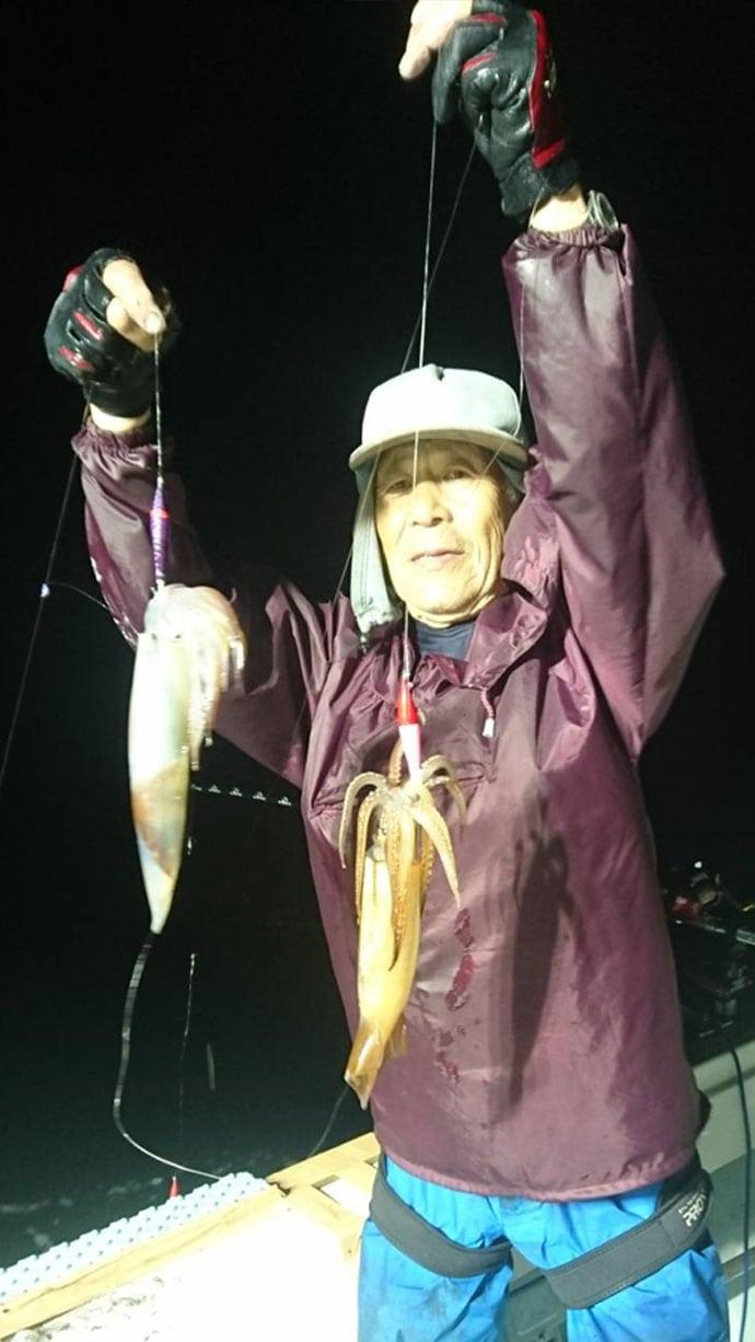 【福岡県】夜焚きイカ釣果速報 シーズン開幕早々に100杯超え!