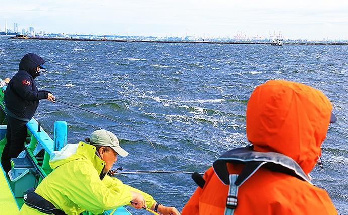東京湾エサマゴチ船で64cm アタリ〜アワセの5ステップをおさらい
