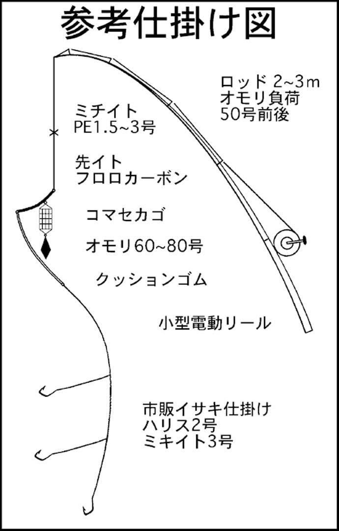東海エリア『梅雨イサキ』キホン攻略法 その日の正解の誘い方を探そう
