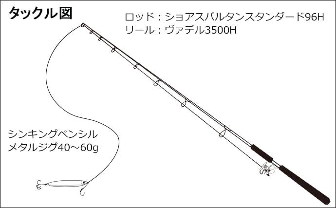 速報!井田ゴロタサーフ回遊中のシイラをショアジギで狙う【静岡県】