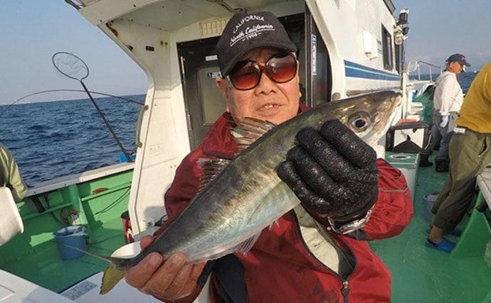 【大分県】沖釣り釣果速報 オフショアジギングで23.4kgオオニベ