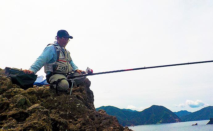 底物狙いで1kg級イシガキダイ 潮流れず苦戦【静岡県・土肥】