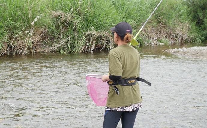 アユの友釣り入門セットで手軽に挑戦 人生初の自力釣果に満足【東京】