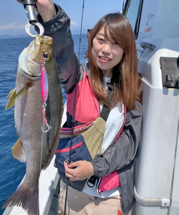 【響灘】SLJ&ジギング&タイラバ釣果速報 7マダイにジャンボイサキ