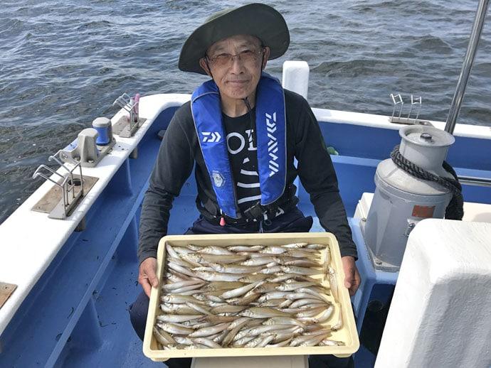 【愛知県】沖でのエサ釣り釣果速報 キス3桁に抱卵イサキも爆釣!
