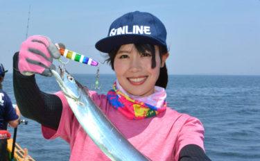 そらなさゆりが東京湾タチウオジギングでツ抜け 試行錯誤が楽しい!