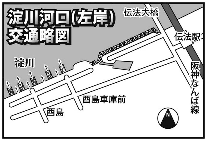 トレンドは電車でGo!:淀川チニング編 手軽なのに大物も狙える